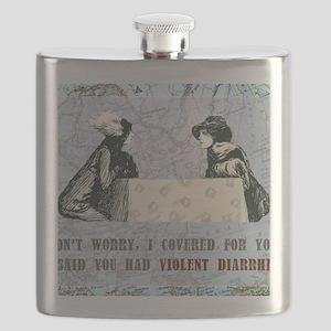 newCard violent diarrhea Flask
