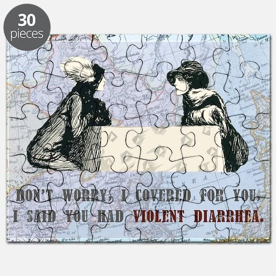 newCard violent diarrhea Puzzle