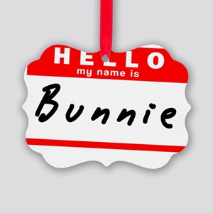 Bunnie Picture Ornament