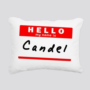 Candel Rectangular Canvas Pillow