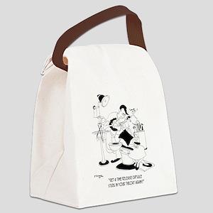 8661_dentist_cartoon Canvas Lunch Bag
