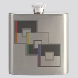 Straight Ally Flask