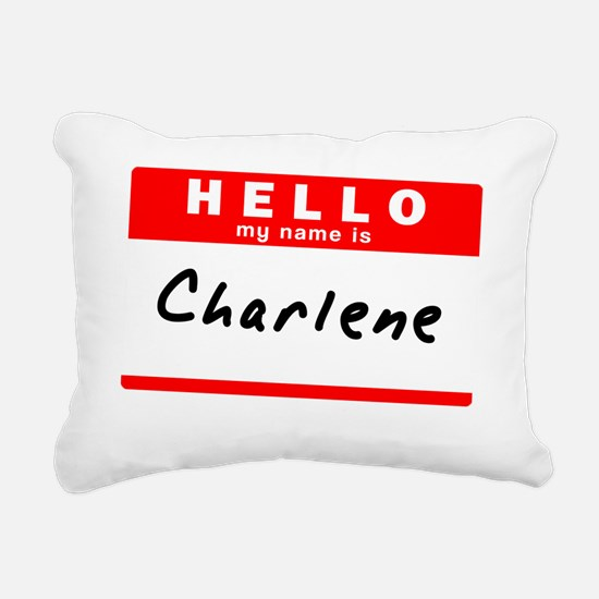 Charlene Rectangular Canvas Pillow