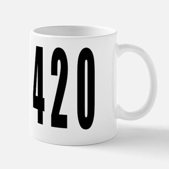 420 LP BLK Mug