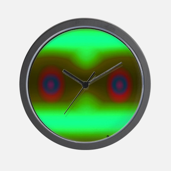 Just Looking with logo 13.25 13.25 2001 Wall Clock