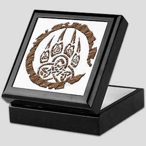 Celtic Stone: Bear Paw Keepsake Box