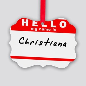 Christiana Picture Ornament