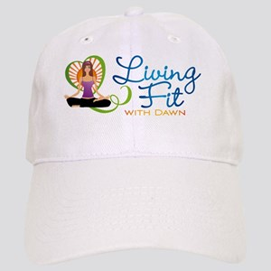 Living Fit whole logo Cap