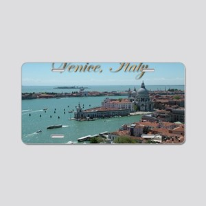 Venice Postcards 01 Aluminum License Plate