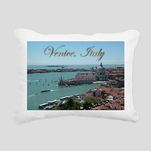 Venice Postcards 01 Rectangular Canvas Pillow