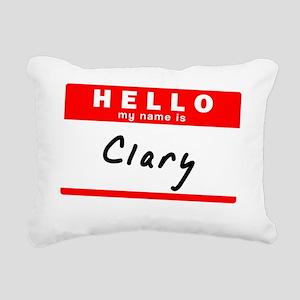 Clary Rectangular Canvas Pillow