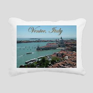 Venice Noteards 01 Rectangular Canvas Pillow