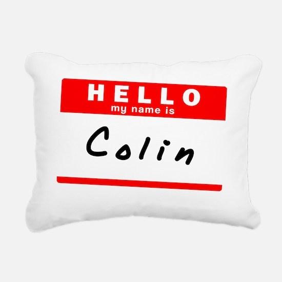 Colin Rectangular Canvas Pillow