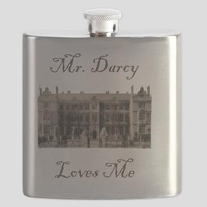 Mr.DarcyLovesMe10x10 Flask