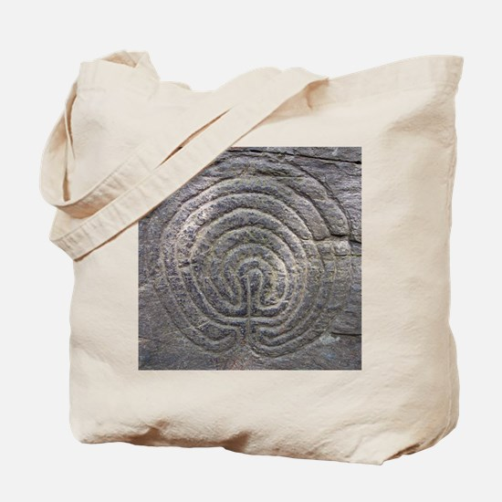 LabyrinthSquareForCP Tote Bag