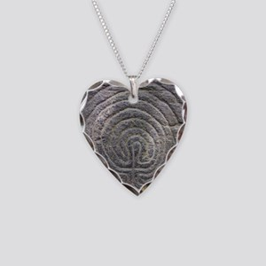 LabyrinthSquareForCP Necklace Heart Charm