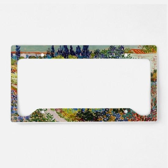 PillC VG Garden Arles License Plate Holder