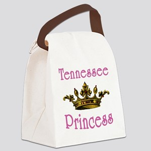 Tennessee Princess with Tiara Canvas Lunch Bag