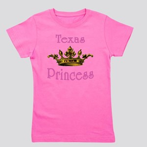 Texas Princess with Tiara Girl's Tee