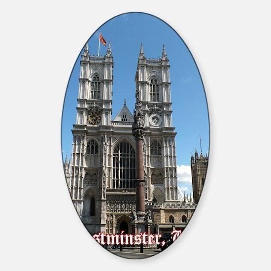 Westminster big Sticker (Oval)