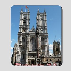 Westminster big Mousepad
