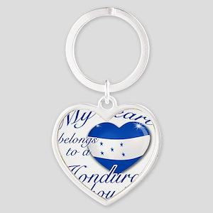 honduran Heart Keychain