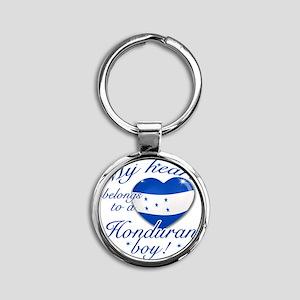 honduran Round Keychain