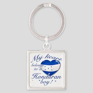 honduran Square Keychain