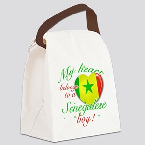 senegalese Canvas Lunch Bag
