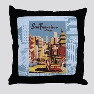 sanfranciscoSC1 Throw Pillow