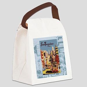 sanfranciscoSC1 Canvas Lunch Bag