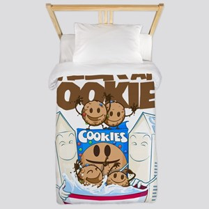 Milk_and_cookies Twin Duvet