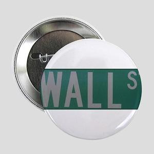 """Wall Street 2.25"""" Button"""