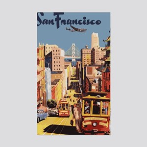 sanfranciscoOriginal1postcard. Sticker (Rectangle)