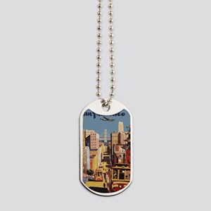 sanfranciscoOriginal1postcard Dog Tags
