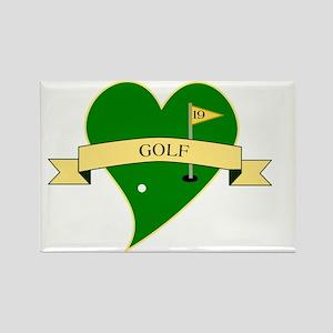 GolfSq Rectangle Magnet