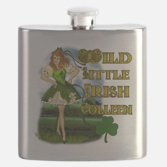 WILD-LITTLE-IRISH-COLLEEN Flask