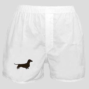 Dachshund Silhouette Boxer Shorts