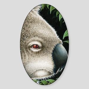 Koalas Side (Kindle Sleeve) Sticker (Oval)