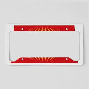 beachbag-f License Plate Holder