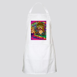 PSYCHEDELIC-PEACE-shower_curtain Apron