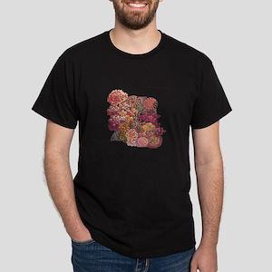 C R Mackintosh Mixed Flowers T-Shirt