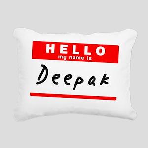 Deepak Rectangular Canvas Pillow