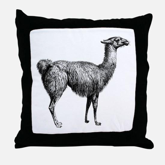 IIama Throw Pillow