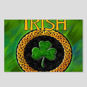CELTIC-IRISH-SHAMROCK-MOU Postcards (Package of 8)