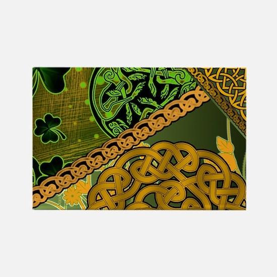 IRISH-CELTIC-KNOTWORK-MOUSEPAD Rectangle Magnet