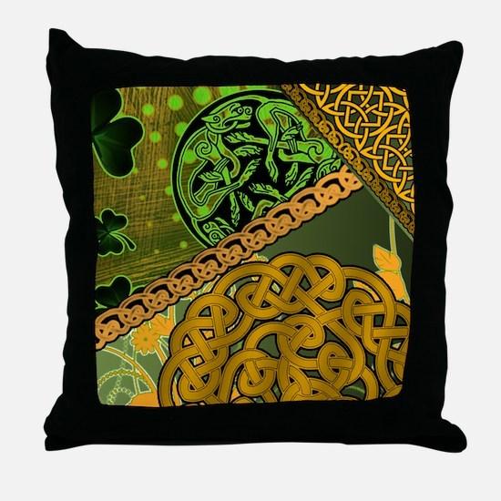 IRISH-CELTIC-KNOTWORK-MOUSEPAD Throw Pillow