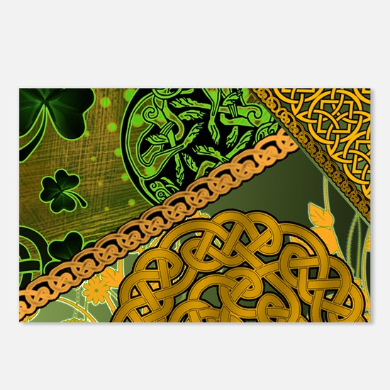 IRISH-CELTIC-KNOTWORK-MOU Postcards (Package of 8)