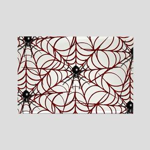 SPIDER WEB Rectangle Magnet