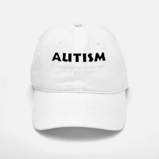 Autism and understanding Baseball Baseball Cap